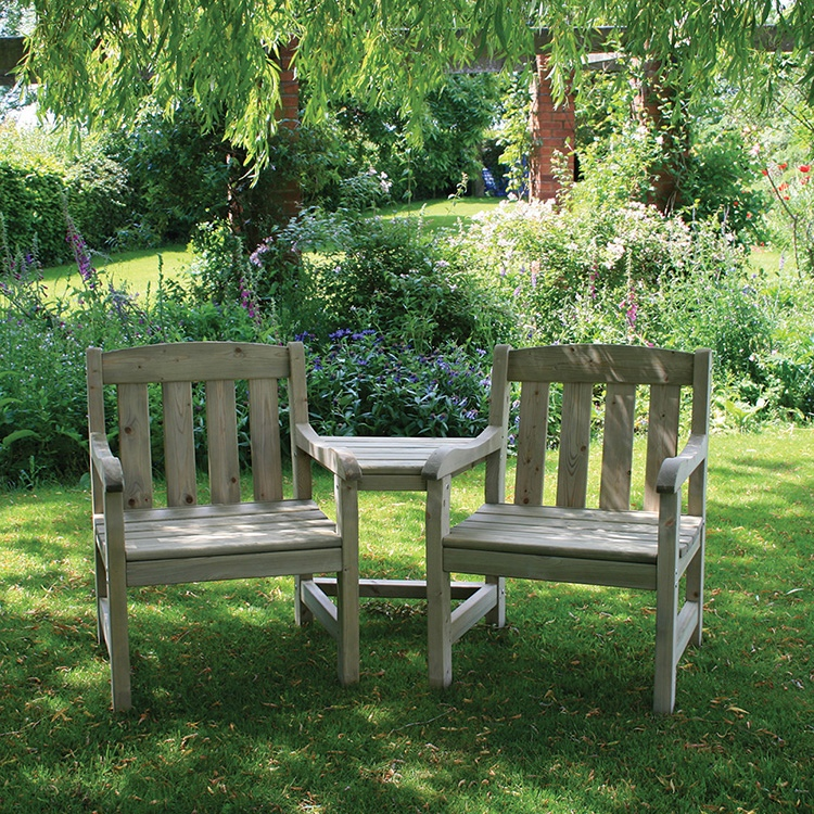 Tiverton Companion Bench