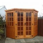 corner summer house
