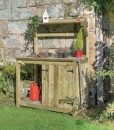 workbench garden wooden