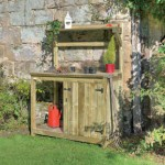 workbench garden wooden