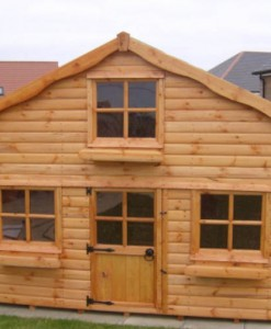 Play house front
