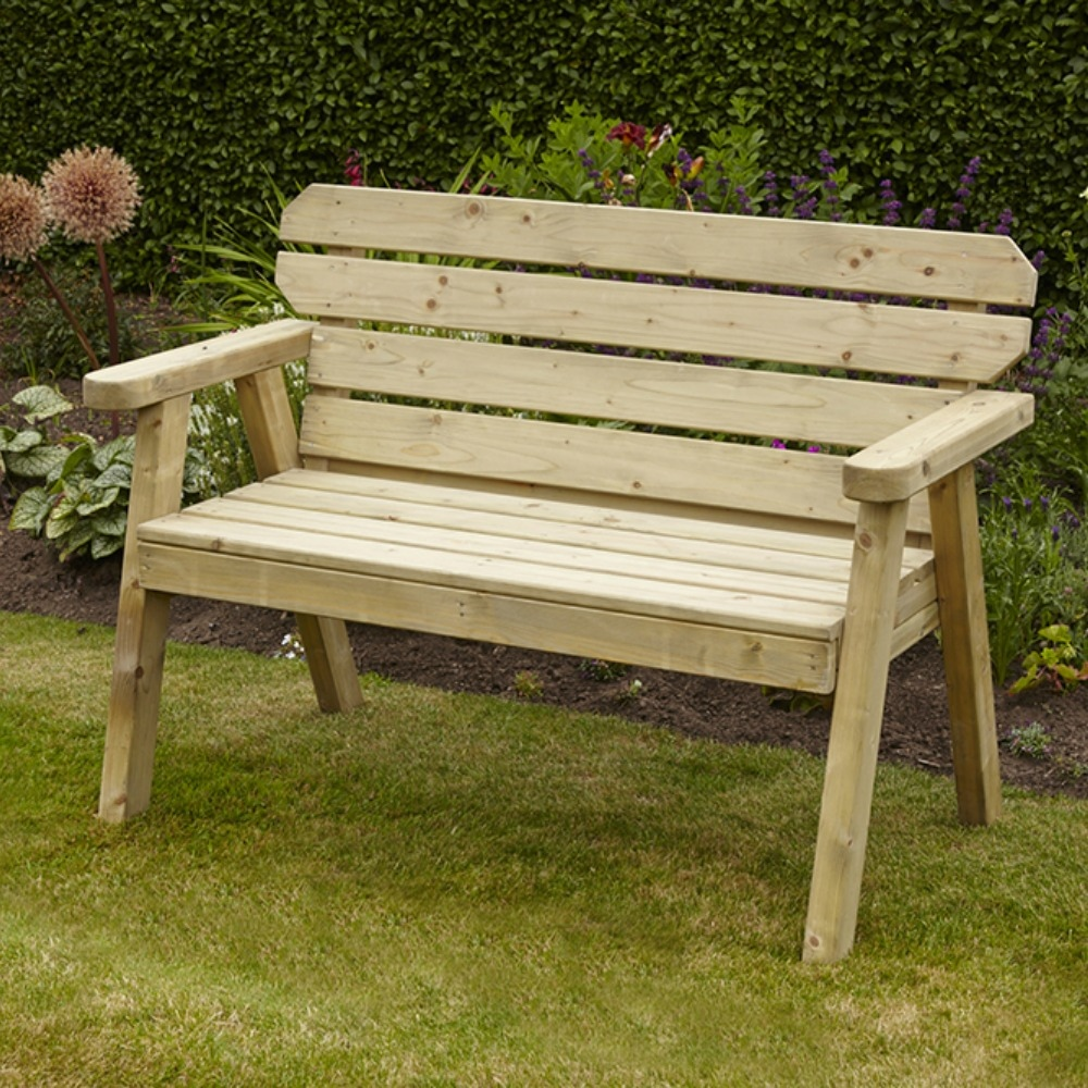 Wooden Patio Bench ~ Exmouth ft bench